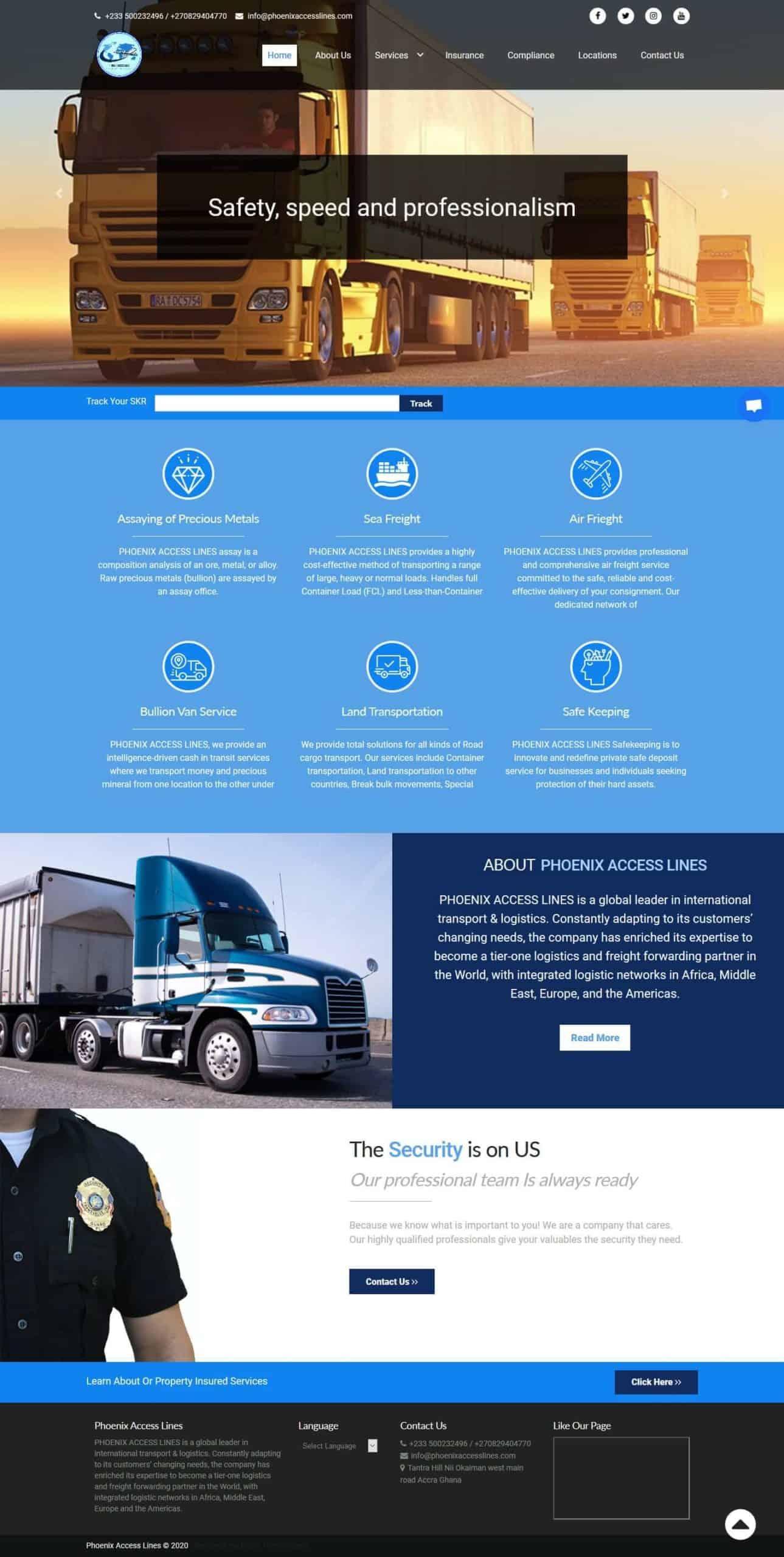 Domestic & International Logistics Industry | Uddfel Technologies Limited