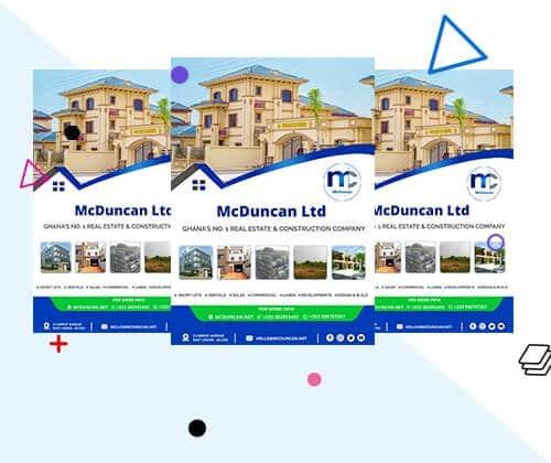Beautiful Corporate Flyer Designs   Uddfel Technologies Limited