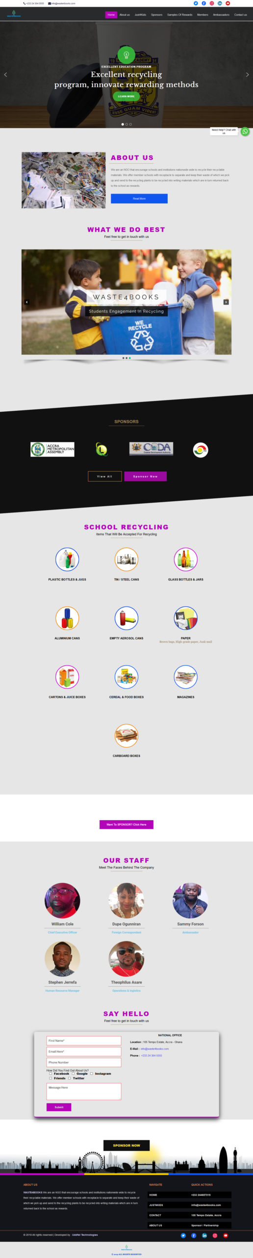 Excellent Recycling Company | Uddfel Technologies Limited
