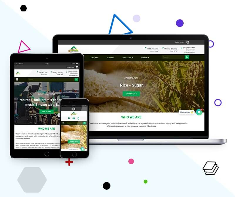 Supply and Procurement Company Website