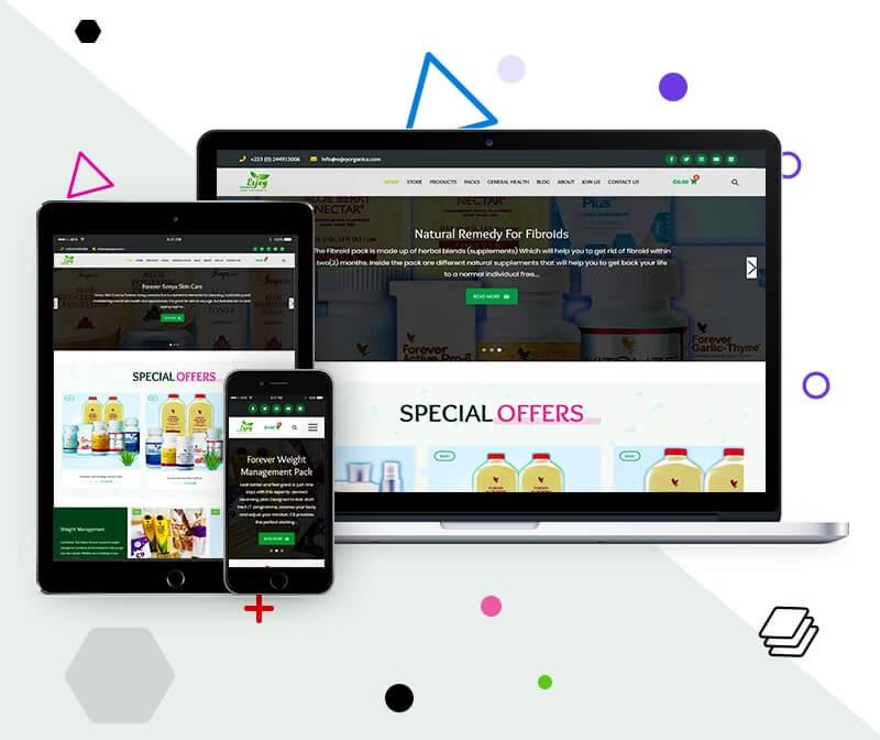 An Ecommerce Organic Online Shop   Uddfel Technologies Limited